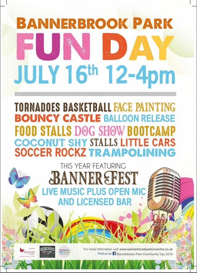 Bannerbrook Park Fun Day 2016