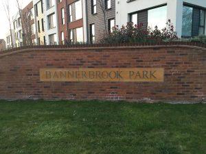 Bannerbrook Park sign