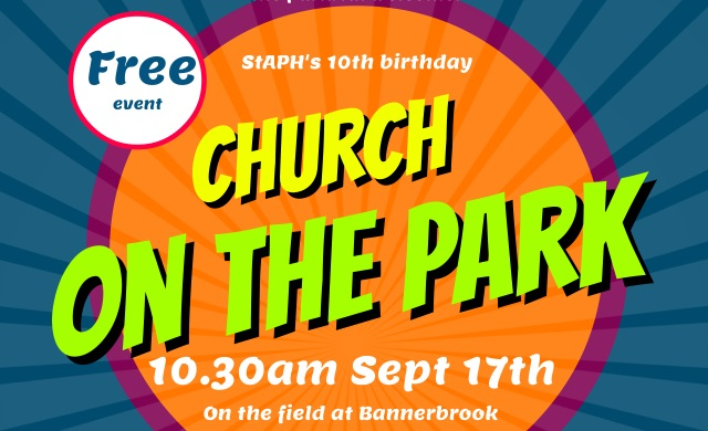 Church On The Park – Sun 17th Sept 2017