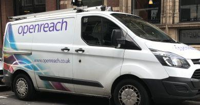 Openreach Van